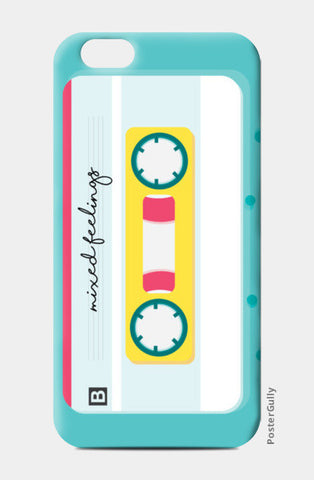 mixed feelings tape iPhone 6/6S Cases | Artist : Shloka Bajaj