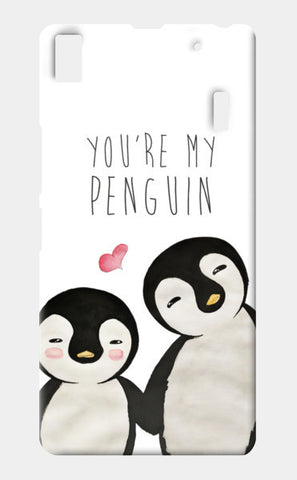 You're My Penguin | Artist: Aparna Singh Lenovo K3 Note Cases | Artist : Aparna Singh