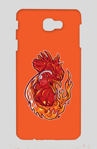 Rooster on fire Samsung J7 Prime Cases | Artist : Inderpreet Singh