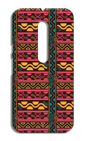 Abstract geometric pattern african style Moto X Style Cases | Artist : Designerchennai