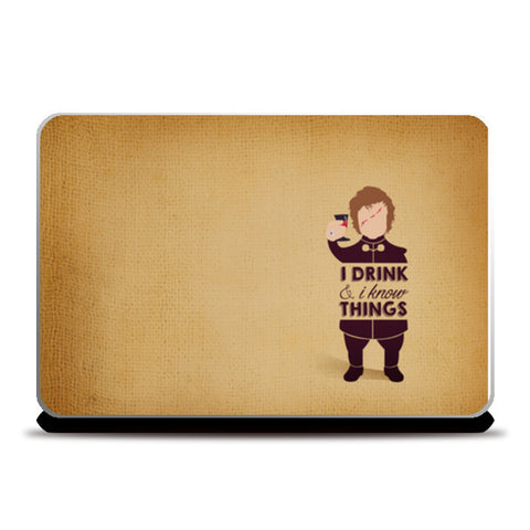 Tyrion Lannister - Game of Thrones Laptop Skins | Artist : Neha Karnik