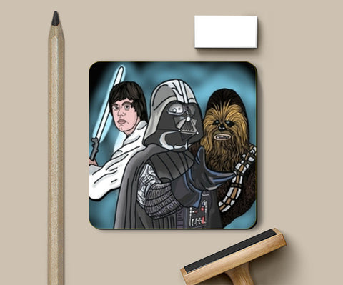 Star Wars Coasters | Artist : Priyanka Paul
