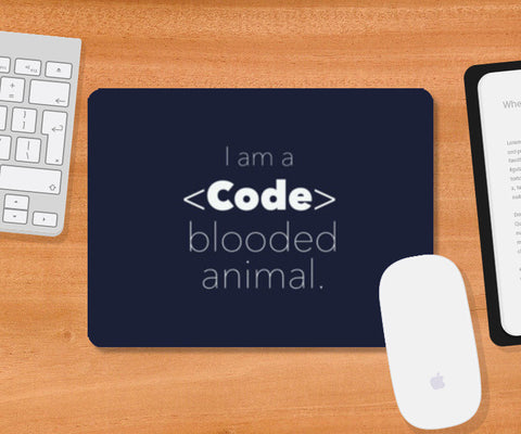 Code Blooded Animal Mousepad | Artist : Gaurav Ratra