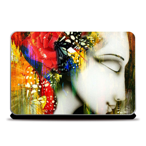 Laptop Skins, Lady Abstract 1 Laptop Skin | Artist: pradeesh.k, - PosterGully