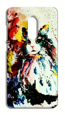 Animal Art : cat Xiaomi Redmi Note 4 Cases | Artist : Burst of spring