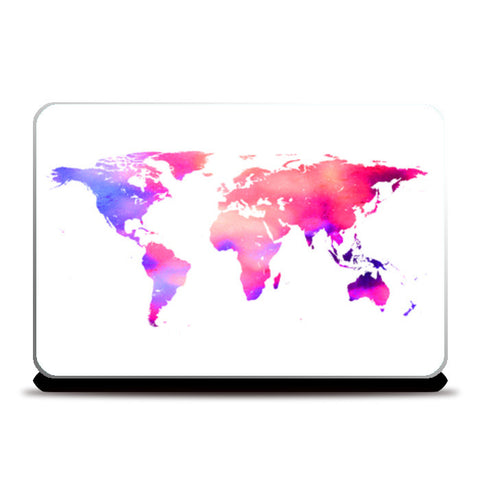 World so wide Laptop Skins | Artist : Vaishak Seraphim
