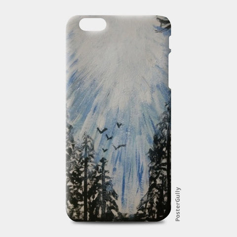 Winter sky @srijana's iPhone 6 Plus/6S Plus Cases | Artist : srijana giri