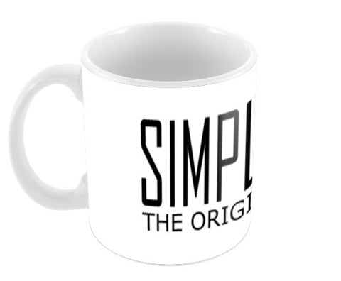 simple is swag 2 Coffee Mugs | Artist : Keshava Shukla