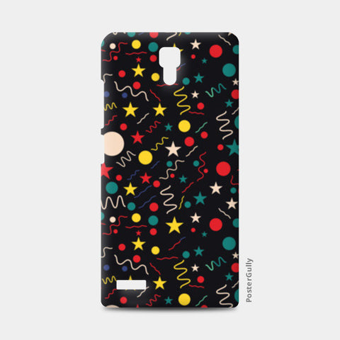 Seamless abstract pattern with geometric shapes Redmi Note Cases | Artist : Designerchennai