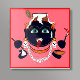 Krishna Kali Square Art Prints | Pratyasha Nithin