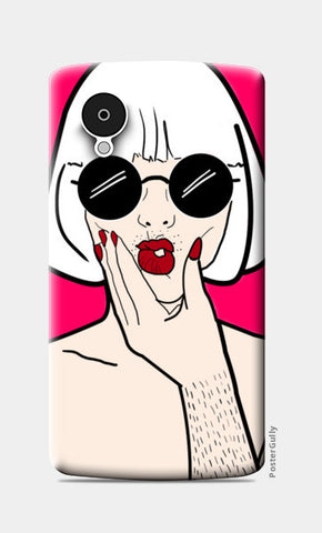 POUT! Nexus 5 Cases | Artist : DISHA BHANOT