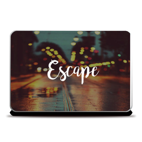 escape Laptop Skins | Artist : DISHA BHANOT
