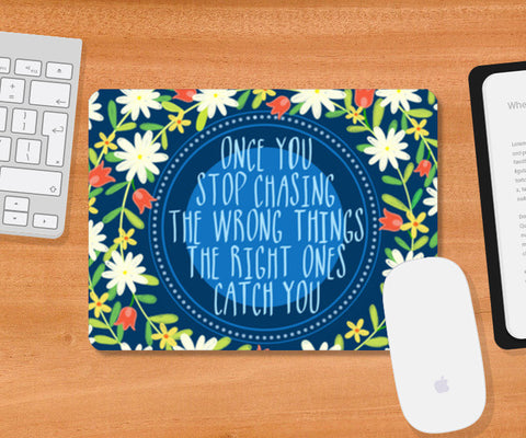 MOTIVATIONAL QUOTE Mousepad | Artist : Paper Pankh