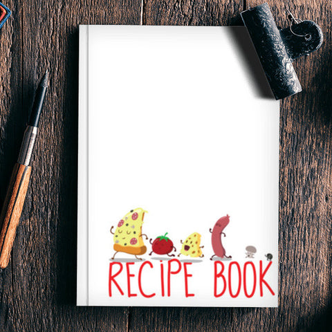 My recipe book Notebook | Artist : Colour me expressive