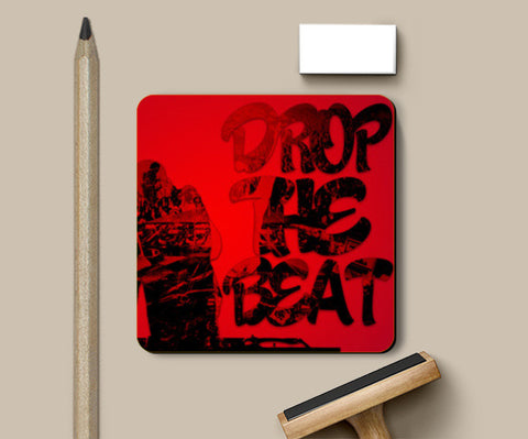 Drop The Beat Coasters | Artist : Ajay Seth