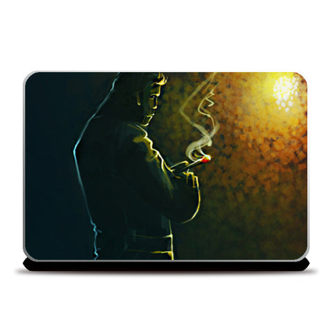Laptop Skins, Thinking Laptop Skin | Artist: Rishi Singh, - PosterGully