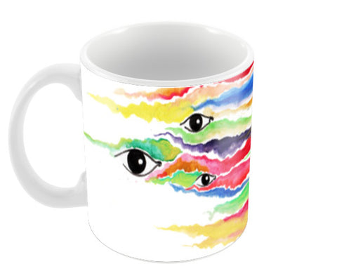 faces of life, happiness, love, faith Coffee Mugs | Artist : amit kumar