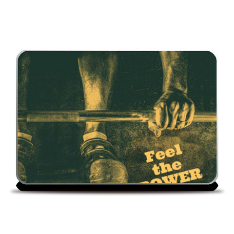 Laptop Skins, feel the power Laptop Skins | Artist : Jayant Rana, - PosterGully