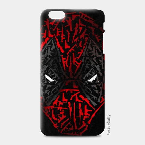 iPhone 6/6S Plus Cases, Deadpool iPhone 6 Plus/6S Plus Cases | Artist : Pankaj Bhambri, - PosterGully