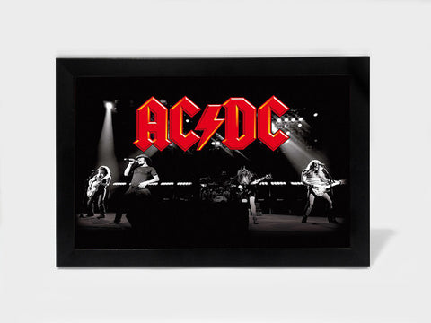 Framed Art, ACDC  The Band | Framed Art, - PosterGully