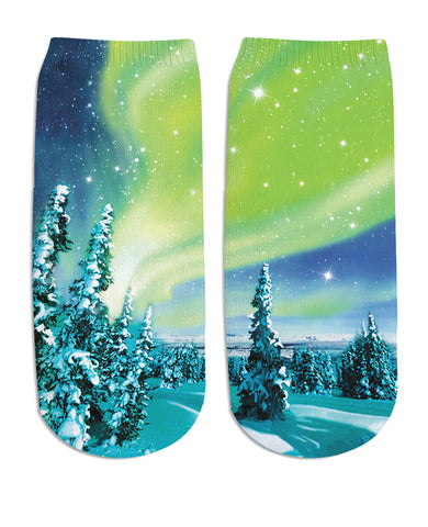 Arctic Nights Ankle Socks