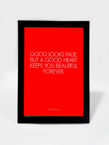 Framed Art, A Good Heart | Framed Art, - PosterGully