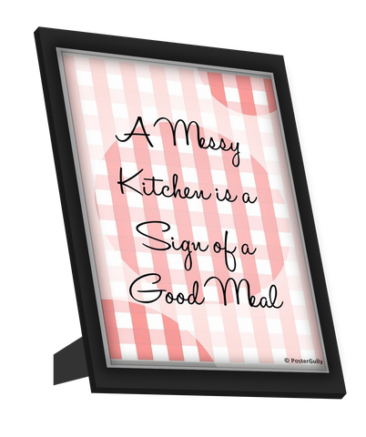 Framed Art, A Merry Kitchen Framed Art, - PosterGully