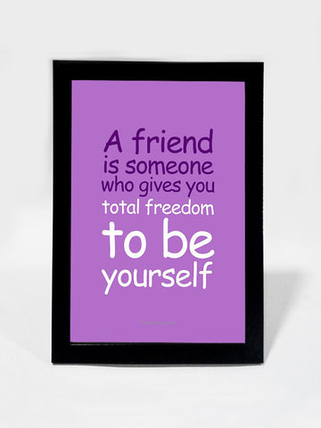 Framed Art, A Real Friend | Framed Art, - PosterGully