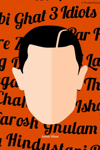 Wall Art, Aamir Khan Pop Art, - PosterGully