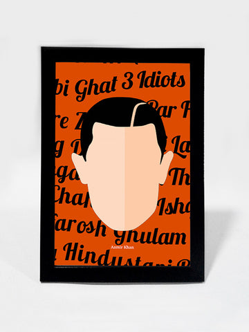 Framed Art, Aamir Khan Pop Art | Framed Art, - PosterGully