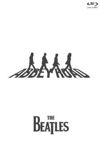 PosterGully Specials, The Beatles | Abbey Road Minimal Art, - PosterGully