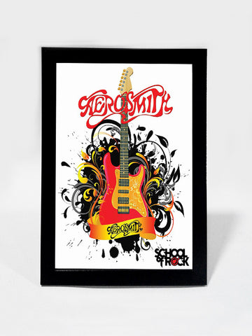 Framed Art, Aerosmith School Of Rock | Framed Art, - PosterGully
