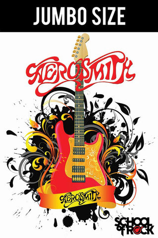 Jumbo Poster, Aerosmith | School Of Rock | Jumbo Poster, - PosterGully
