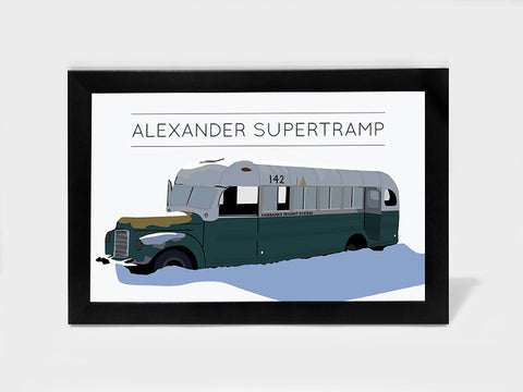 Framed Art, Alexander Supertramp  Into The Wild | Framed Art, - PosterGully