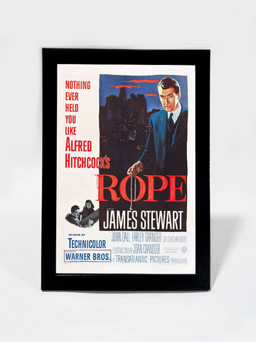 Framed Art, Alfred Hitchcock The Rope | Framed Art, - PosterGully
