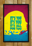 Glass Framed Posters, All For You Lana Del Rey Glass Framed Poster, - PosterGully - 1