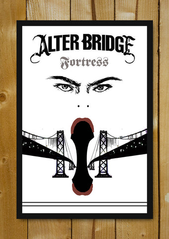 Glass Framed Posters, Alter Bridge Fortress Glass Framed Poster, - PosterGully - 1