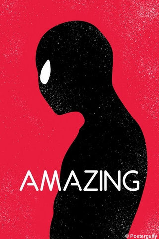 Wall Art, Amazing Spiderman Minimal, - PosterGully