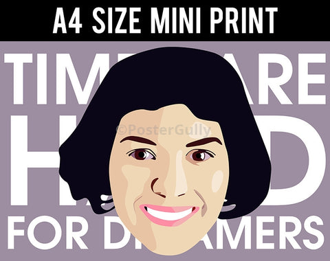 Mini Prints, Amelie | Times Are Hard | Mini Print, - PosterGully