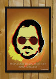 Glass Framed Posters, American Hustle | Believe | Glass Framed Poster, - PosterGully - 1