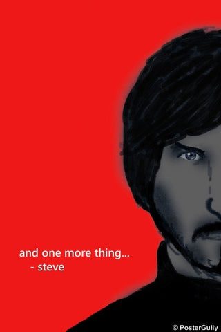 Wall Art, And One More Thing | Steve Jobs, - PosterGully