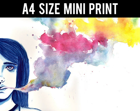 Mini Prints, Anime 7 | Mini Print, - PosterGully