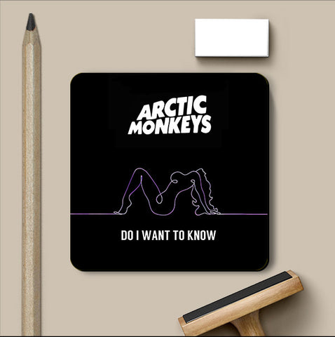 PosterGully Coasters, Arctic Monkeys Coaster | Artist: Devraj Baruah, - PosterGully