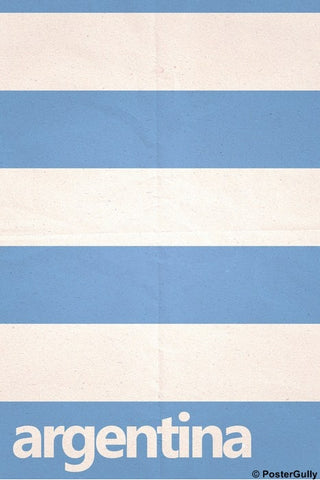 Wall Art, Argentina Soccer Team #footballfan, - PosterGully