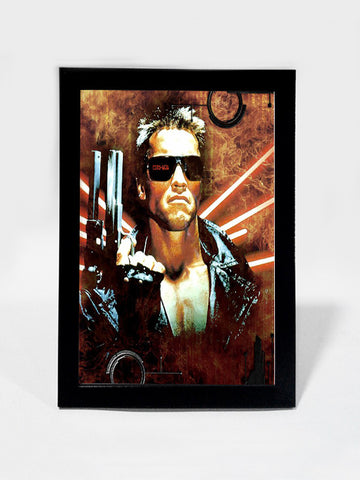 Framed Art, Arnold  The Terminator | Framed Art, - PosterGully