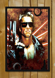 Glass Framed Posters, Arnold The Terminator Glass Framed Poster, - PosterGully - 1