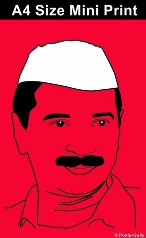 Mini Prints, Arvind Kejriwal- Aam Admi Party- AAP | Mini Print, - PosterGully