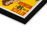 Glass Framed Posters, Attack of the 50 Ft. Woman Glass Framed Poster, - PosterGully - 2