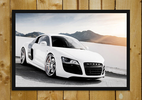 Glass Framed Posters, Audi R8 Glass Framed Poster, - PosterGully - 1