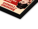 Glass Framed Posters, Audrey Hepburn Delicious Delights Glass Framed Poster, - PosterGully - 2